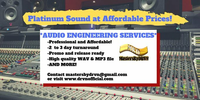 ***AUDIO ENGINEERING SERVICES!*** Professional, affordable and quick turnover! Let MastersByDrvn take your project to the next level! Click here=> https://t.co/p8r5TTp080 #AudioEngineer #MixAndMastering #MusicProducer #MastersByDRVN https://t.co/nFB04I2YE0