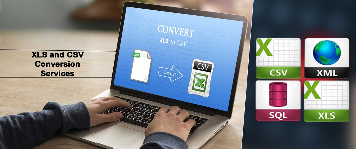 Successfully converting the #XLS and #CSV format into client-specified one and vice-versa, without data loss! . #conversionservices #dataentrycompanies #businessprofits #businessowners Read More :  Mail us : support@indiadataentryhelp.com