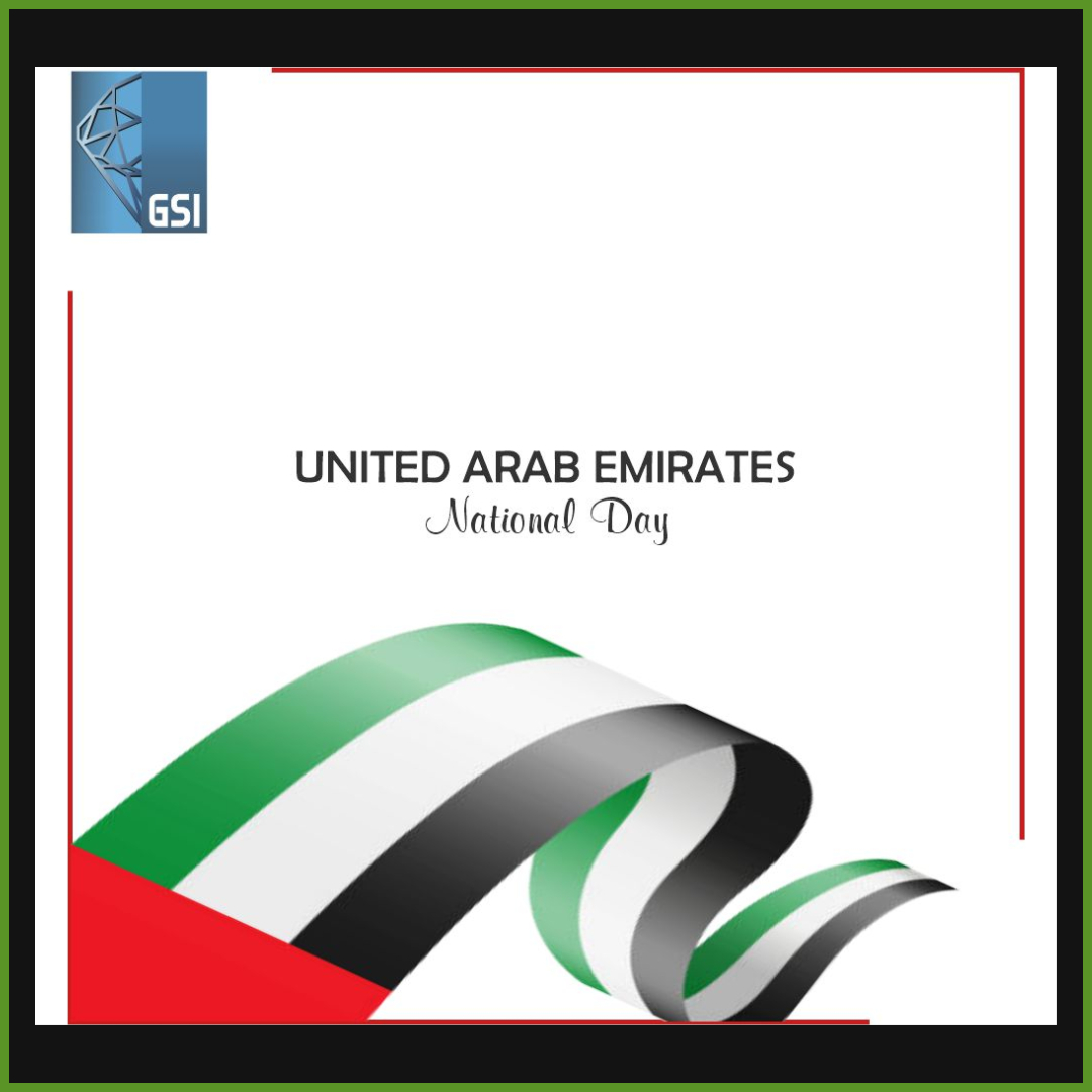 Happy UAE National Day! From all of us at GSI.  #GemologicalScienceInternational #GSICertified #GSI #GSICertification #Gemstone #Jewelry #Gemstones #DesignerJewelry #GemLab #GemstoneTesting #GemstoneGrading #Gemology #Gemologist #ColoredGemstones #Diamonds #FashionJewelry https://t.co/cpOgGhfOcK