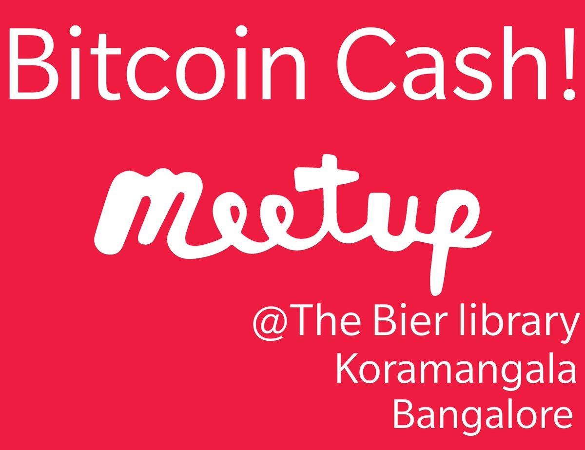 Check out this Friday Meetup: #BitcoinCash Merchant Adoption #Meetup @ The Bier Library, Koramangala, Bangalore.  @InstaCryptoIN  https://t.co/KQpFsK0Pxj #Meetup #Bengaluru #India  #BCH is #Bitcoin @cctip_io airdrop 2700 INC 90 https://t.co/iV3sHwSPxR
