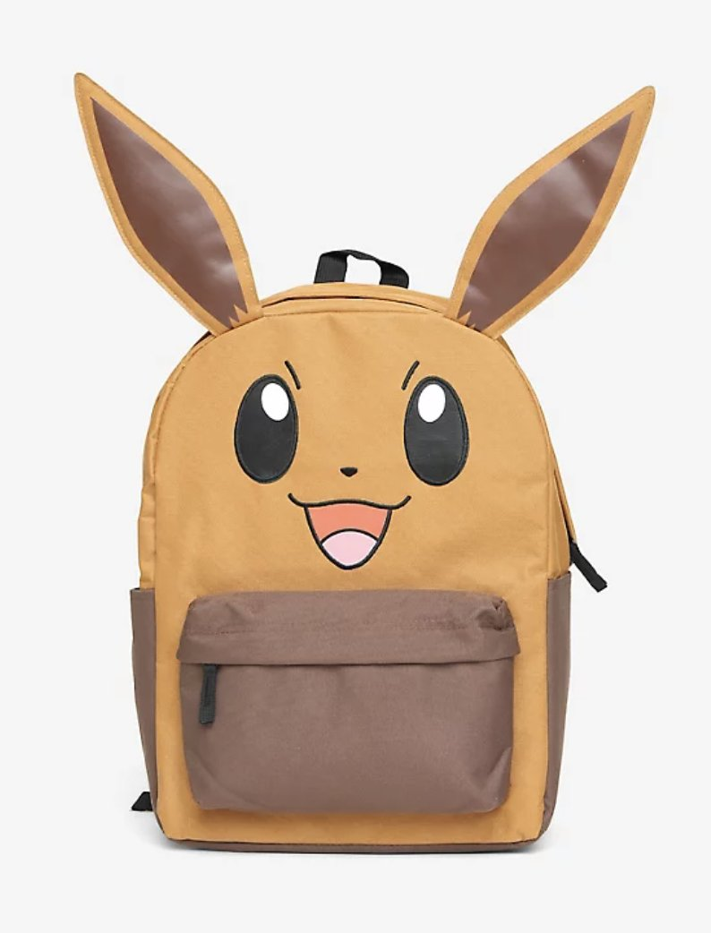 The Pokémon Eevee Character Backpack is on sale for $32.83 at Hot Topic. 2