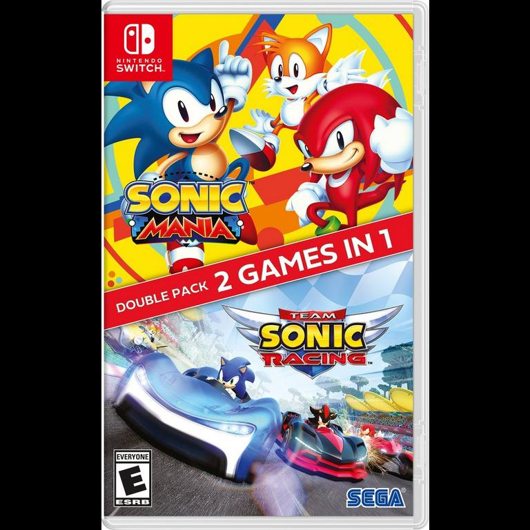 Sonic Mania Plus Team Sonic Racing Double Pack for Switch is on sale for $29.99 at GameStop. 2