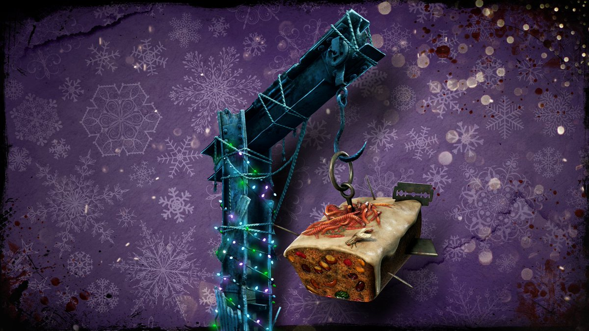 Watch #FogWhisperers and selected DbD Twitch/YouTube Content Creators for a chance to win the Fruitcake Killer Charm all throughout the Halloween Event! https://t.co/2sGHNunGju