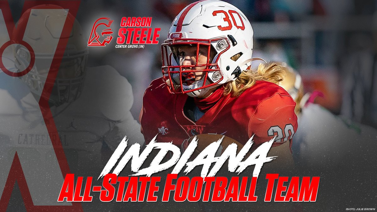 2020 Indiana MaxPreps All-State high school football team.  Nationally ranked Center Grove and Cathedral lead the way with nine combined selections.   👀: https://t.co/e1H50PFLIu https://t.co/VHy59KHVhD