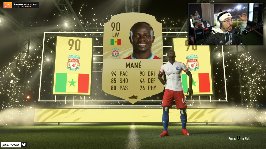 Castro1021 - WE JUST PACKED MANE ON THE RTG FROM WINNING THE DRAFT!!!!!!!  NOW TIME TO WATCH UNITED ON STREAAAAAM!!!