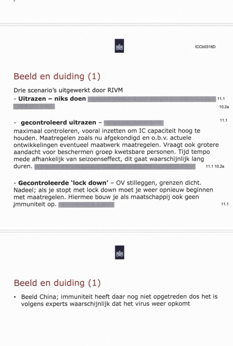 test Twitter Media - Aan het einde van de dag heeft 't ministerie van Justitie stukken vrijgegeven over Corona, nav verzoeken media, waaronder RTL Nieuws. #wob   Gaat om documenten van de ambtelijke crisisorganisatie ICCb, onder meer over 'gecontroleerd uitrazen'.  Straks meer op @RTLnieuws https://t.co/WCfHBZswxr