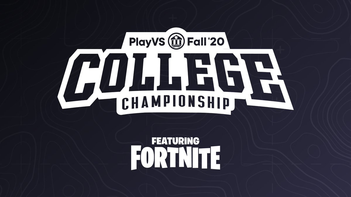 This weekend — Dec 5 & 6 — the best college @FortniteGame trios in North America, $100k on the line. We're gonna crown a Fall 2020 Champion.  🕔 : 5 PM ET 📺:
