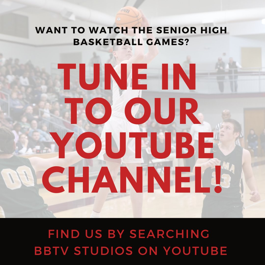 Catch our livestream of the Girls & Boys Senior High Basketball games on YouTube beginning at 6:00pm! https://t.co/c9kTGgP7Yv #BPRD  @badgersports16 @Beebe_Schools @badger_lady @Badgerballbkb https://t.co/ppro5yWUNn