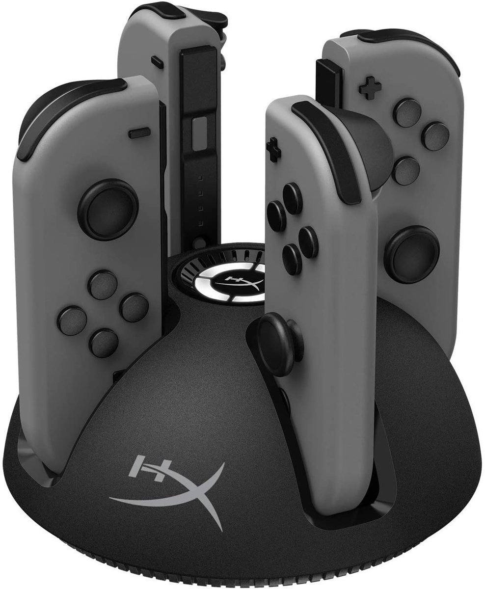 HyperX Chargeplay Quad - 4-in-1 Joy-Con Charging Station  Only $14.99!