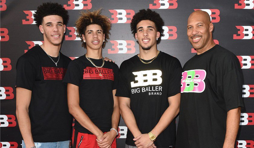 All 3 Ball Brothers Are Now In The NBA!   Lonzo Ball - NOLA Pelicans LaMelo Ball - Charlotte Hornets LiAngelo Ball - Detroit Pistons   LaVar Ball Raised The 3 NBA Players & Spoke This Into Existence. 🐐🦔 https://t.co/QtGMIgk16l Replying to @sftyplus