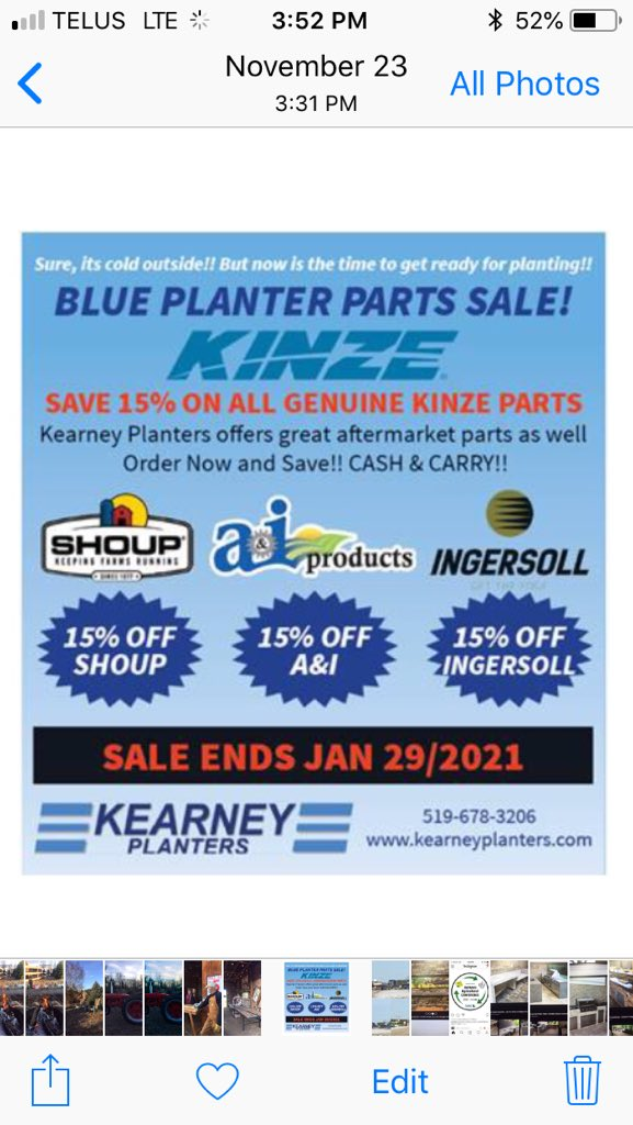 Replying to @kearney_parts: #Sale