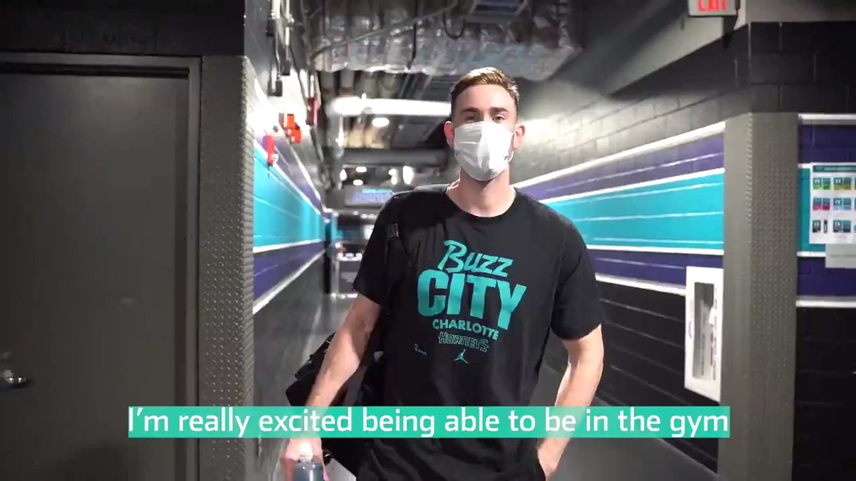 """""""Maximizing the impact that I could have and helping this team get to the next level was really enticing, really powerful and something I want to be a part of."""" - @gordonhayward #BuzzCity  📝"""