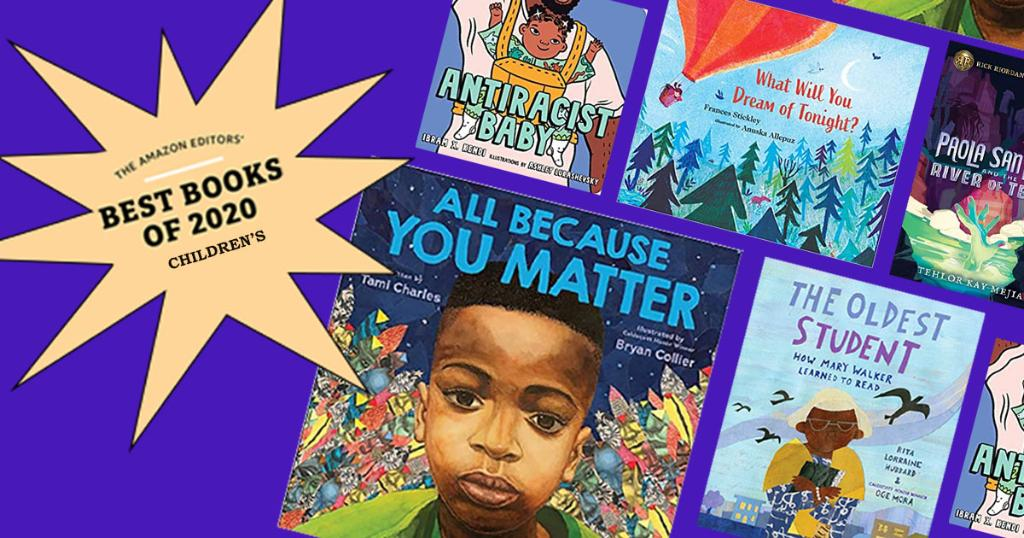 Our picks for the Best Children's Books of 2020: