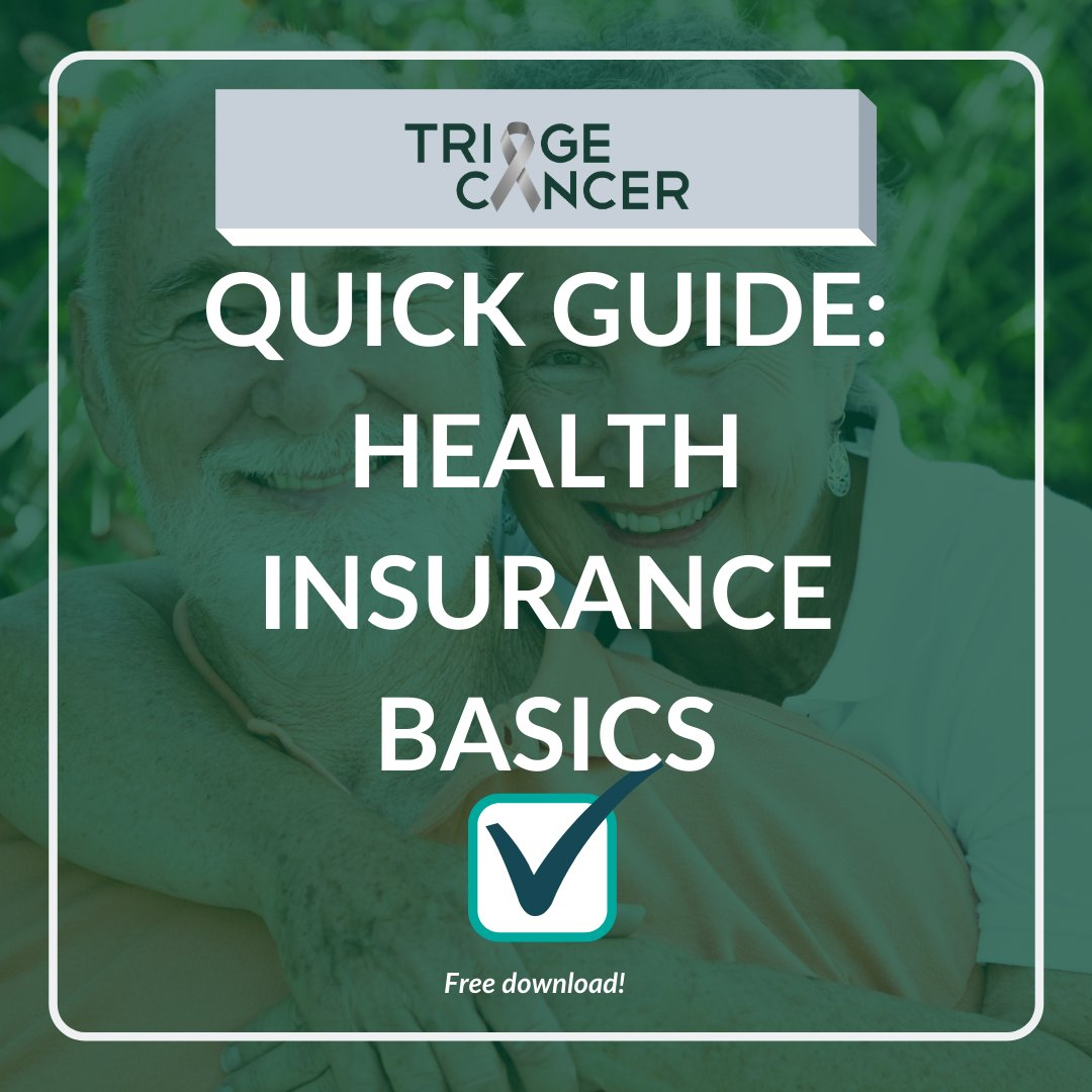#OpenEnrollment ends soon!  Need help making the best #healthinsurance decisions for your situation?  Download our free Quick Guide to Health Insurance Basics: https://t.co/mR33EgarRe   #hcsm #cancersm #getcovered #cancerrights #beyonddiagnosis #oncoalert #TriageAdvocates #hcldr https://t.co/SkUBsQHXjo