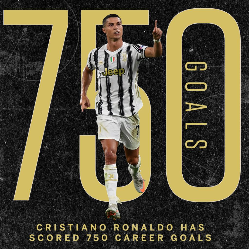 Cristiano Ronaldo has now scored 750 goals for club and country 🤯 https://t.co/Y9BS0lSuUZ