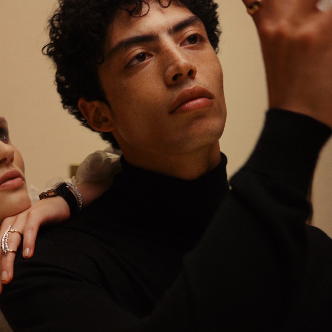 Dream together.  Giedre Dukauskaite and Cristiano Palmerini wear a selection of watches and fine jewelry for the holiday season.  #CHANELDreaming #CHANELFineJewelry #CHANELWatches #COCOCRUSH #PlumeDeCHANEL #CHANELBoyFriend Find your boutique on