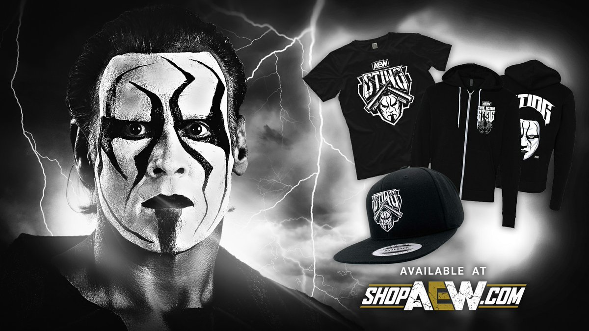 AEW Releases New Sting Merchandise And Theme, Fan Video Of His Entrance On Dynamite
