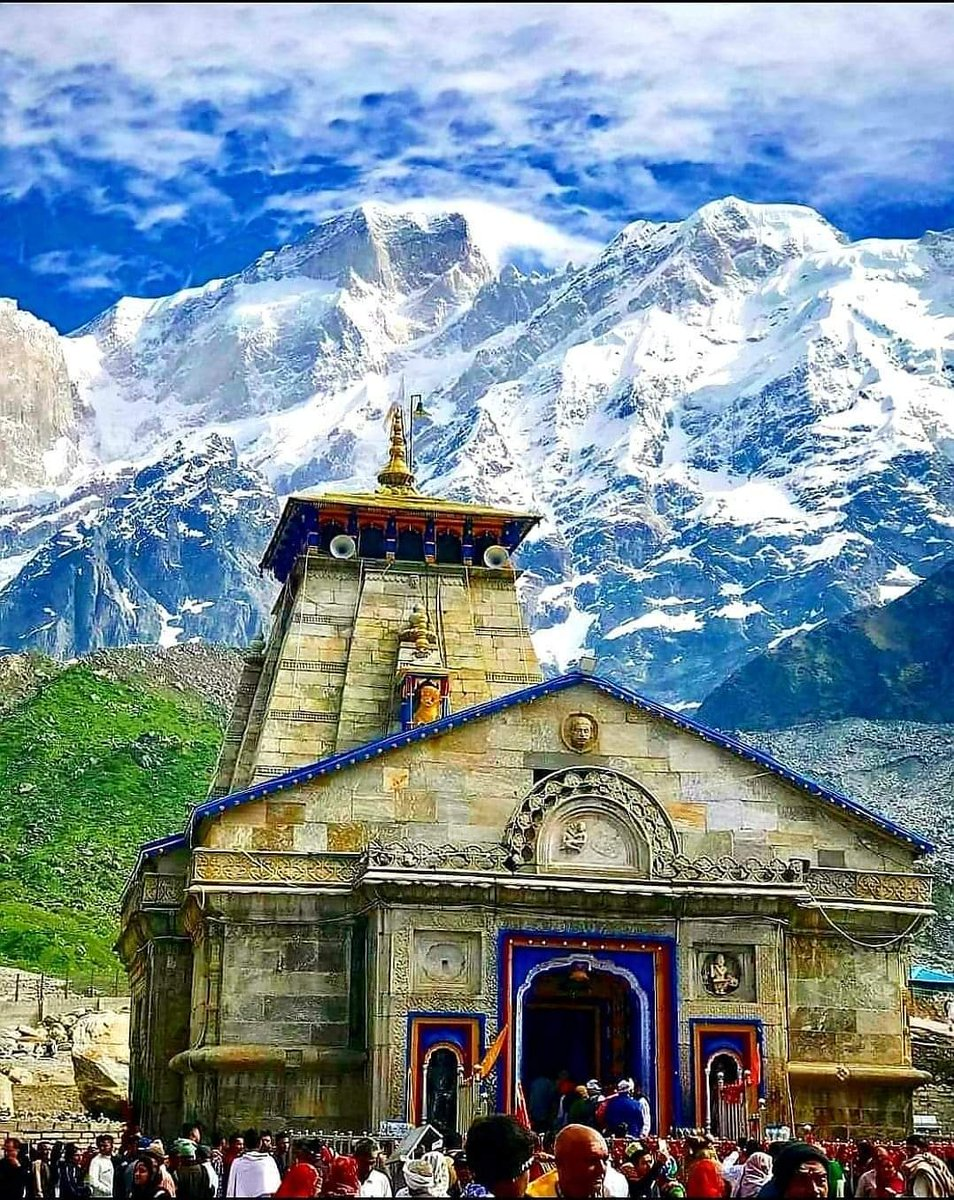 जहाँ झरने भी शिव नाम के बहते है   उस धाम को #केदारनाथ कहते है।। #हर____हर___महादेव #ॐ_नमः_शिवाय https://t.co/ZKm9aBCUN0