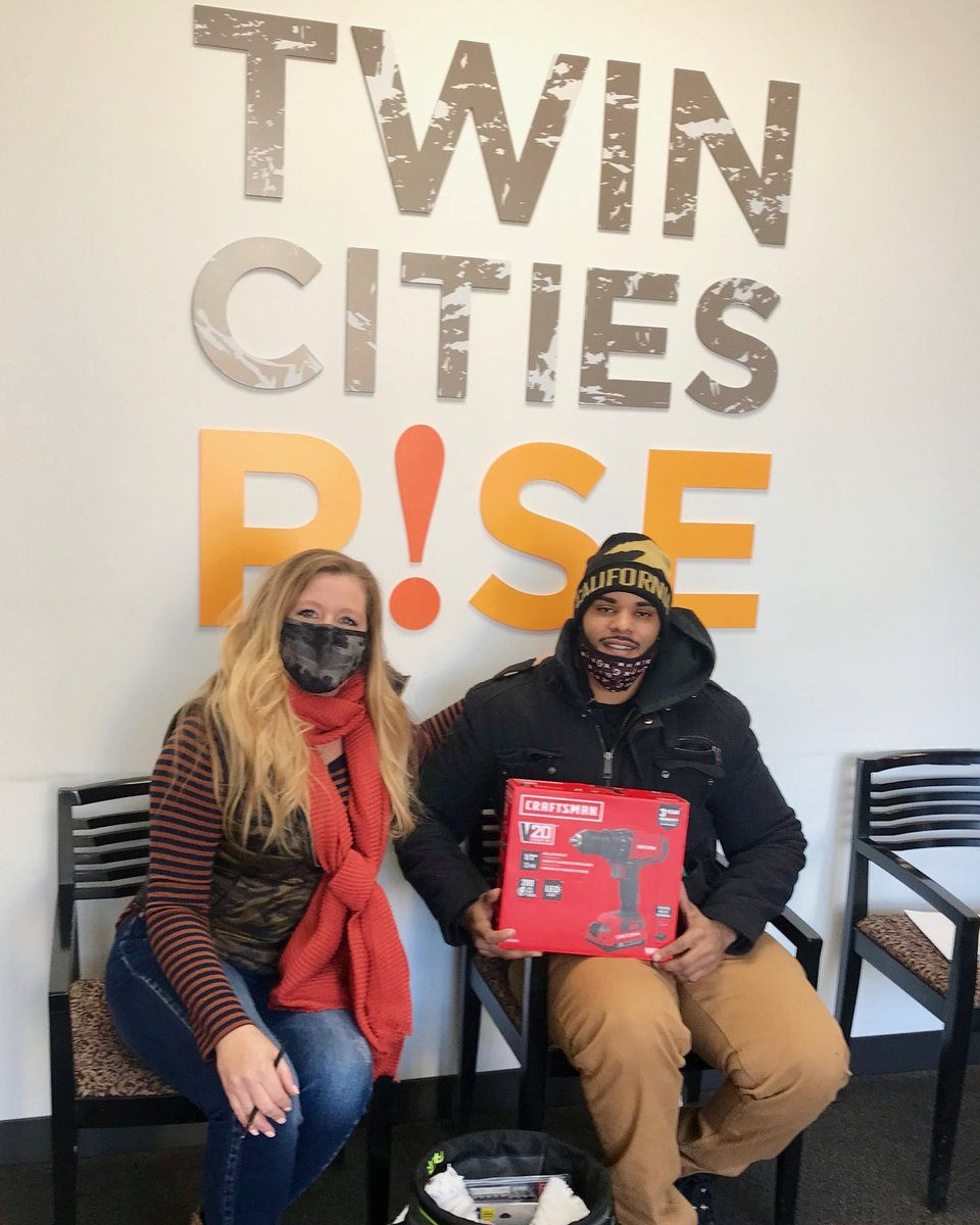 Awesome news! Our 1st placement at REI from our Facilities and Maintenance cohort!    Deondre was just given his toolkit valued at $250 in sponsorship with @Lowes & @MN_MHA  Congratulations Deondre!  #BuildingCareers #EmpoweringLives