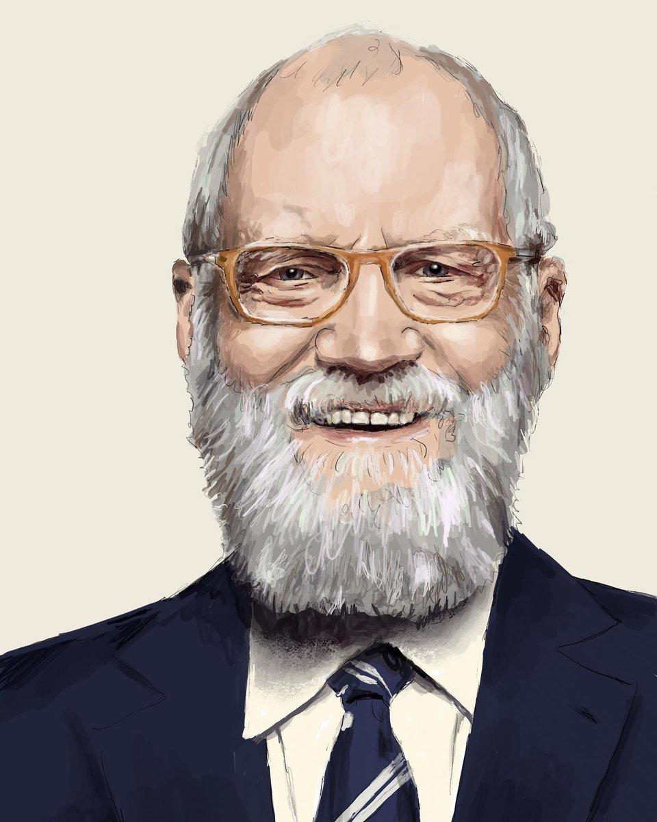 David Letterman #davidletterman #letterman #mynextguestneedsnointroduction #procreate #applepencil #DigitalArtist