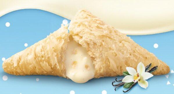 12月9日よりマクドナルドから、甘い香りとクリーミーな味わいの「恋の三角チョコパイ バニラ味」が新発売されます✨