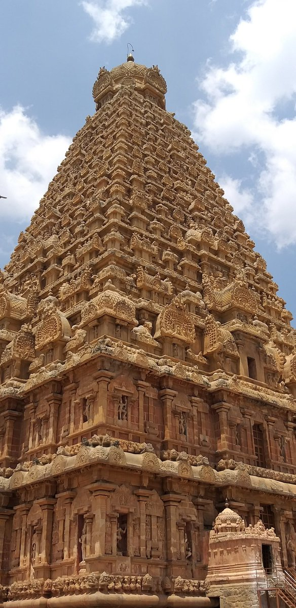 Imagine building a Skyscraper today without digging a foundation ! Thats what our Ancients did 1000+ yrs ago. The Mighty Brihadeeswara 🔥