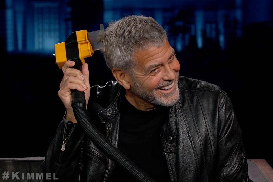 Oscar winners are just like us! #Clooney #Flowbee