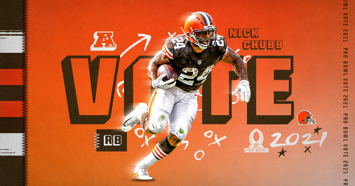 RTs = Pro Bowl Votes!  #ProBowlVote + @NickChubb21