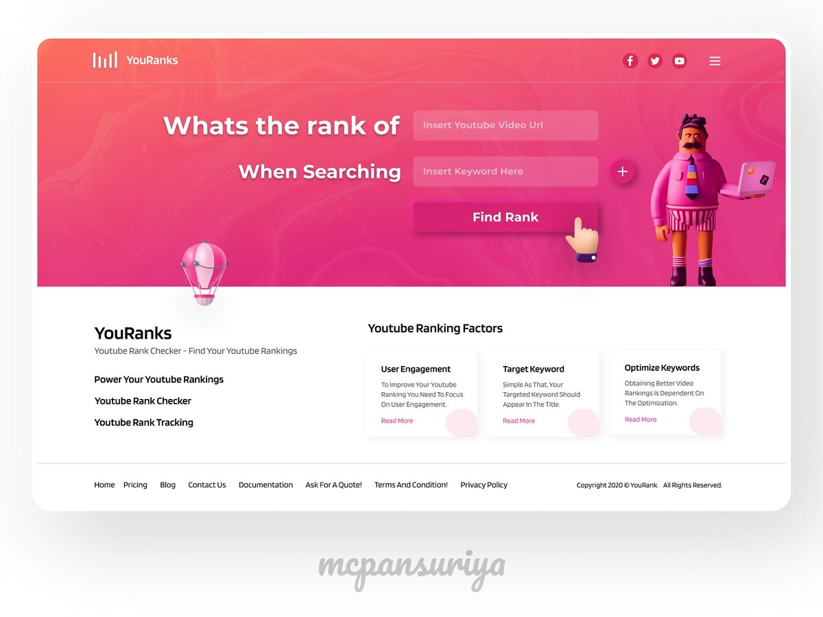 """What you think about this ? There's a lot of room for improvement, your feedback and appreciation are always welcome.🖤 Don't forget to press """"L"""" if you love it. Thanks! #knowledgesharing #uxdesign #uidesign #ux #websitedesign #ui #webdesign #webdesigner #uidesigner"""