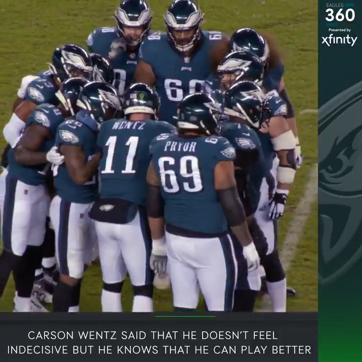 Get the latest surrounding the team on this edition of #Eagles 360, presented by @Xfinity.  #FlyEaglesFly