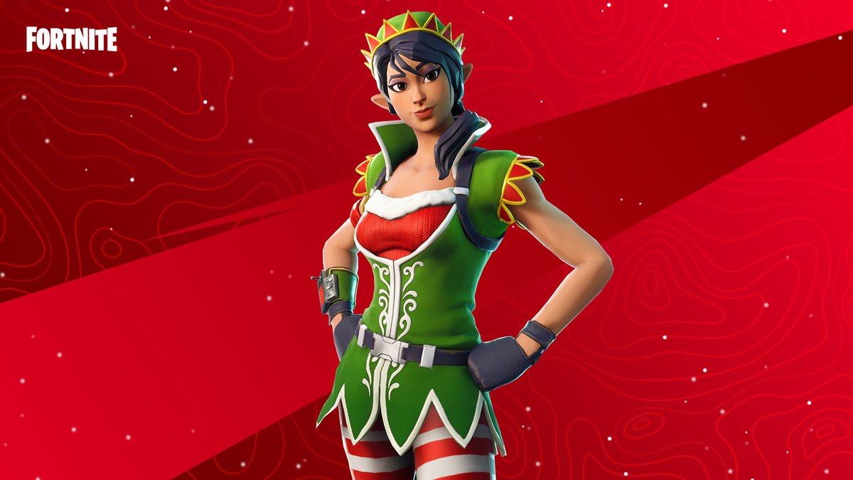 Stay on your toes or face the fury of this festive warrior.  Grab the Tinseltoes Outfit in the Item Shop now!