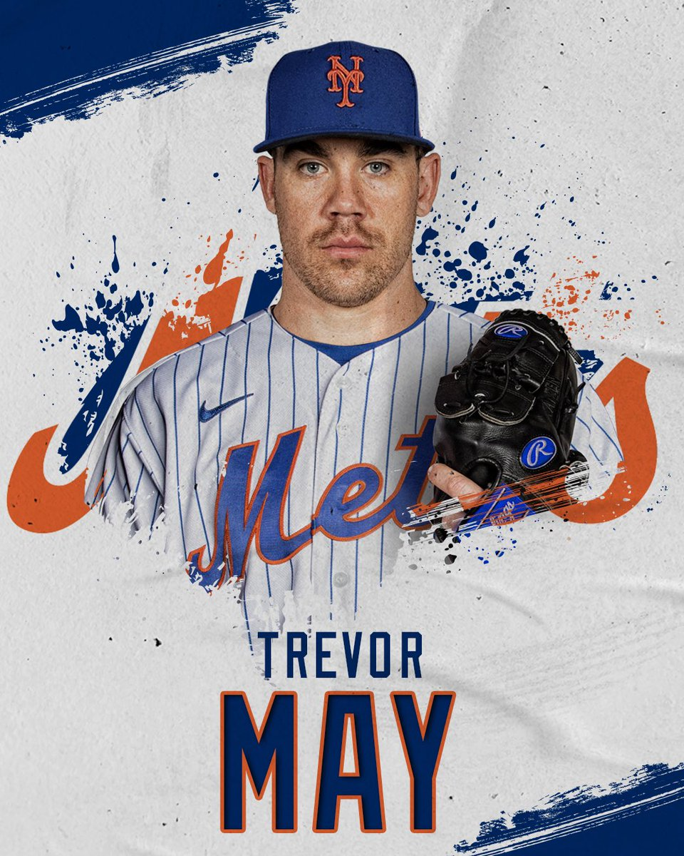 RT @Mets: Welcome to Queens, @IamTrevorMay! 🍎  We have signed RHP Trevor May to a two-year contract. https://t.co/WrOnTelhb7
