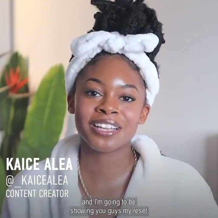 """Morning. Check out @_KaiceAlea self care routine in the newest episode of """"Hot Girl Style"""". You deserve it. #HotGirlStyle"""