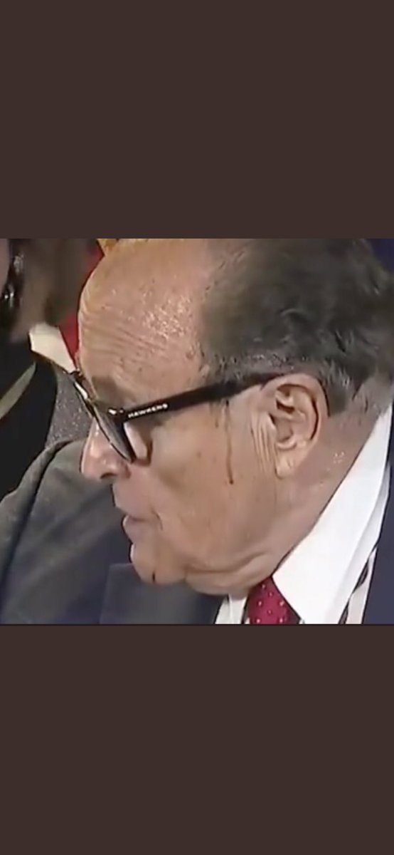 @xoxoPatrioticRN @RSBNetwork @realDonaldTrump @RudyGiuliani Trump and Giuliani have got you guys in a pool of MAGA-TEARS. They know that they lost, but they want trump's supporters to think the opposite.😜😭 Let's see if Rudy bought a non dripping hair dye this time, because the hard time in there is inevitable😜😜🤣🤣 https://t.co/mZuZl8NbPg