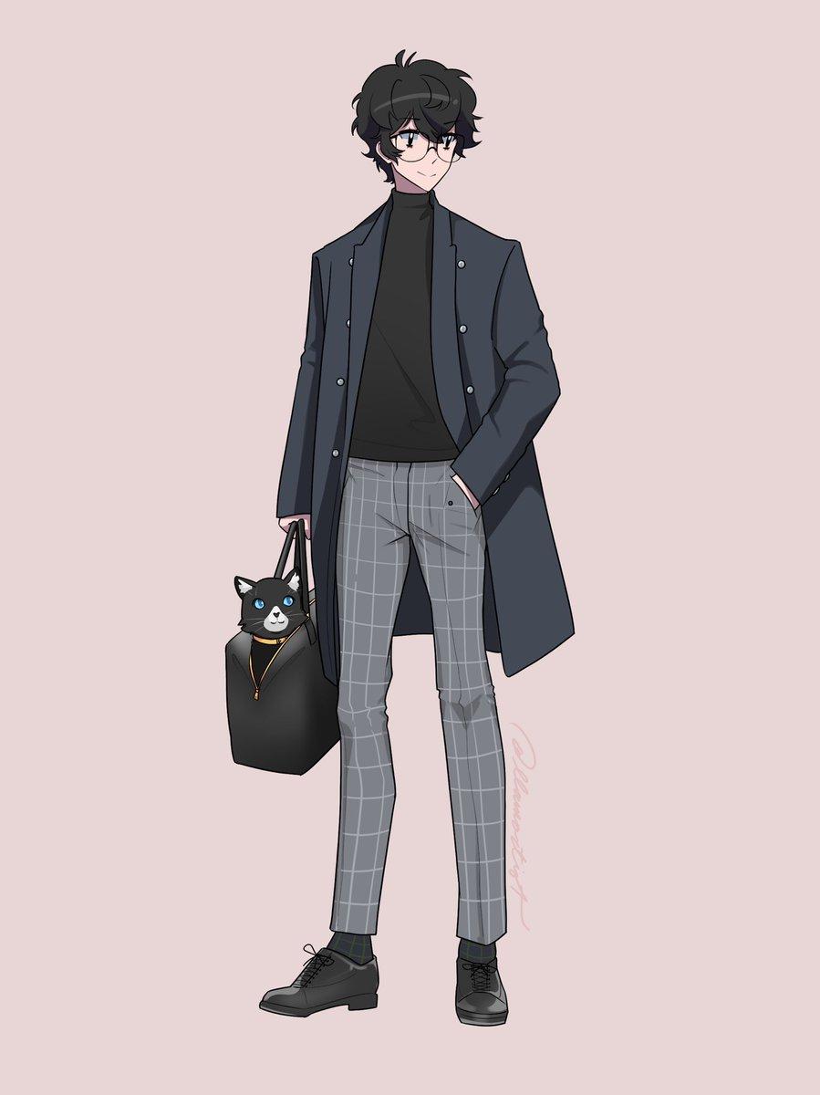 Replying to @llamartist: Some stylish Persona 5 boys!  #Persona5 #ペルソナ5  #p5