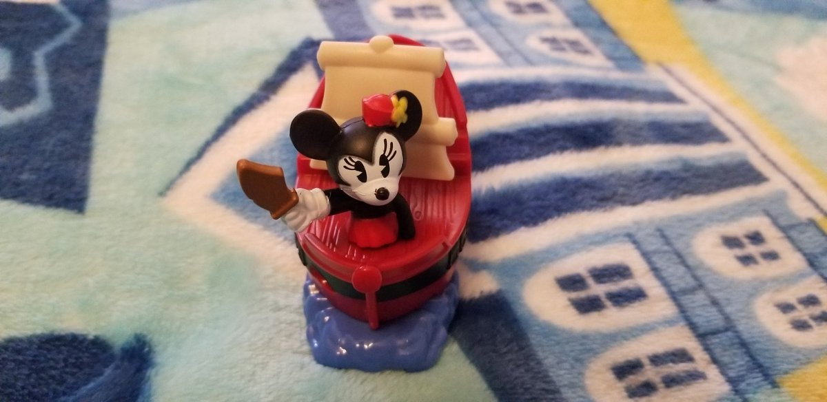 And The Toy I Got Is Minnie Mouse On A Pirate Ship From The Pirates Of The Caribbean Attraction From Magic Kingdom Park!  #McDonalds #HappyMeal #HappyMealToys  #MickeyAndMinniesRunawayRailway  #MouseRulesApply #MickeyMouseShorts #PaulRudish  #MinnieMouse  #PiratesOfTheCaribbean