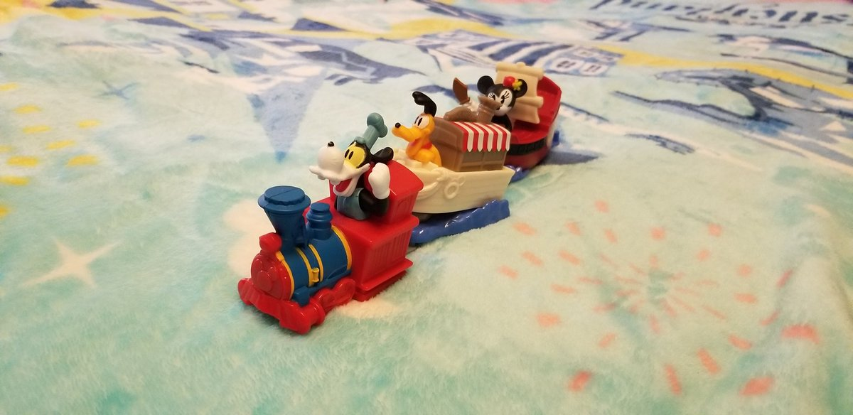 Now I Need To Colect More Mickey And Minnie's Runaway Railway Happy Meal Toys From McDonald's! #McDonalds #HappyMeal #HappyMealToys  #MickeyAndMinniesRunawayRailway  #MouseRulesApply #MickeyMouseShorts #PaulRudish  #DisneyTVA #DTVA  #D23 #AtHomeWithD23 #D23FantasticWorlds #Disney