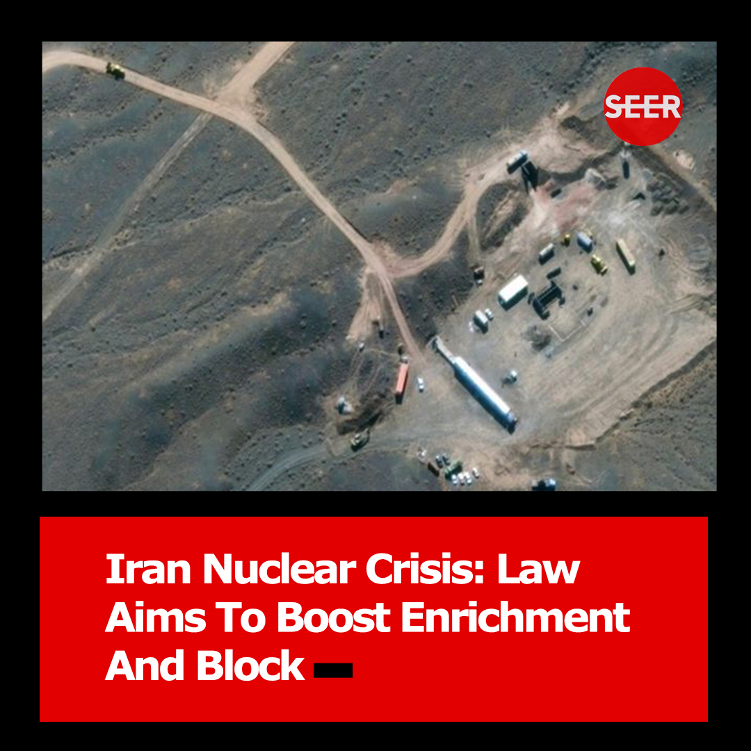 #Iran has moved to stop #UN inspections of its nuclear sites and step up #uranium enrichment under a new law approved by its parliament.  The bill would require the government to resume enriching uranium to 20% - well above the 3.67% agreed under a 2015 nuclear deal. https://t.co/JmTgZLltBA