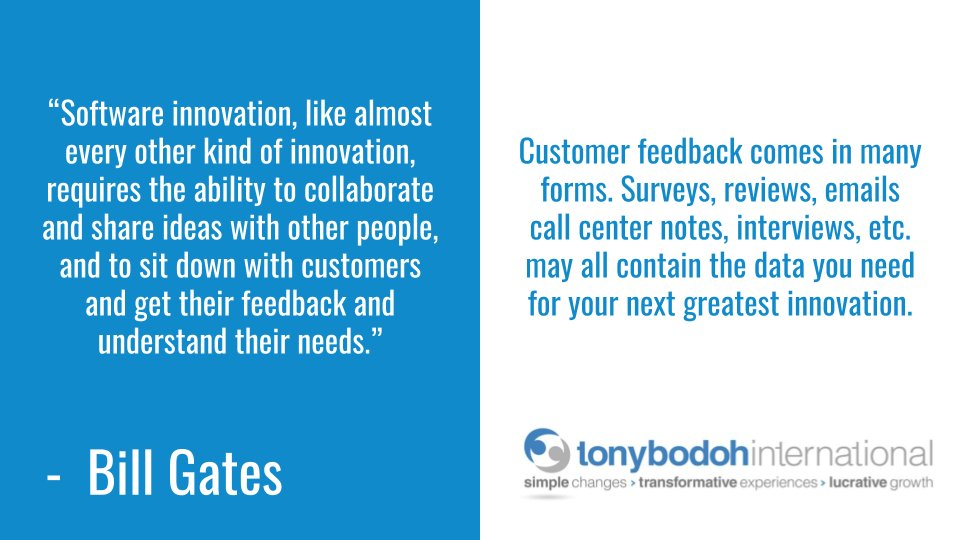 Customer feedback comes in many forms. Surveys, reviews, emails call center notes, interviews, etc. may all contain the data you need for your...  #business #employeeexperience