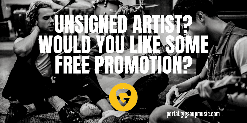 Unsigned & looking for more exposure? GIGsoup can help you & for FREE  Promote new music, tours, & other features - even post your latest track to a GIGsoup Playlist - visit https://t.co/Vg6vBOPsKe  #RT #musicsubmissions #NewMusic #IndependentArtist #unsignedartist - 57711 https://t.co/eNF5EvbSOj