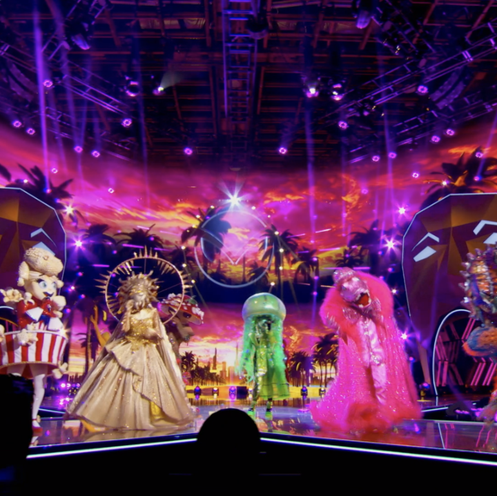 Wow, we have no choice but to stan the Super Six! #TheMaskedSinger