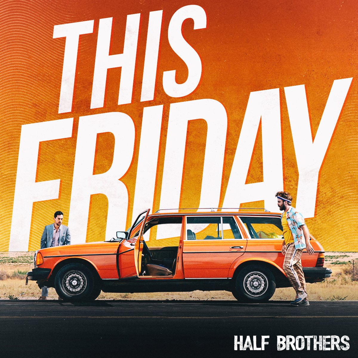 In TWO DAYS, get ready for one epic road trip. #SignInAndSave wen you reserve your seats for #HalfBrothers through the #Free #EXTRAS Program:  🚗🐐 #MakeItICONIC