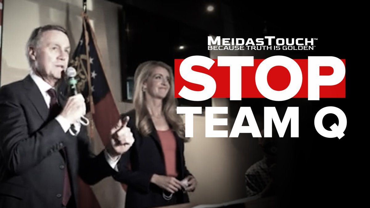 📺 NEW VIDEO  Retweet if you think it's disgusting that Kelly Loeffler and David Perdue support and welcome QAnon terrorists into the state of Georgia!  #StopTeamQ