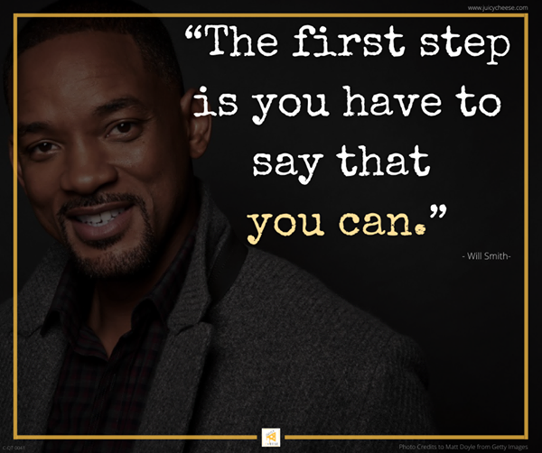 """The first step is you have to say that you can.""💝#WillSmith  #Wisdom #LifeLessons #Inspiration #InspirationalQuotes #MotivationalQuotes #MentalHealth #Depression #Anxiety #RecoveryPosse #Addiction #YouGotThis #MindsetIsEverything #Mindset #Consciousness #StriveForGreatness #PMA https://t.co/RuEH1isBtt"