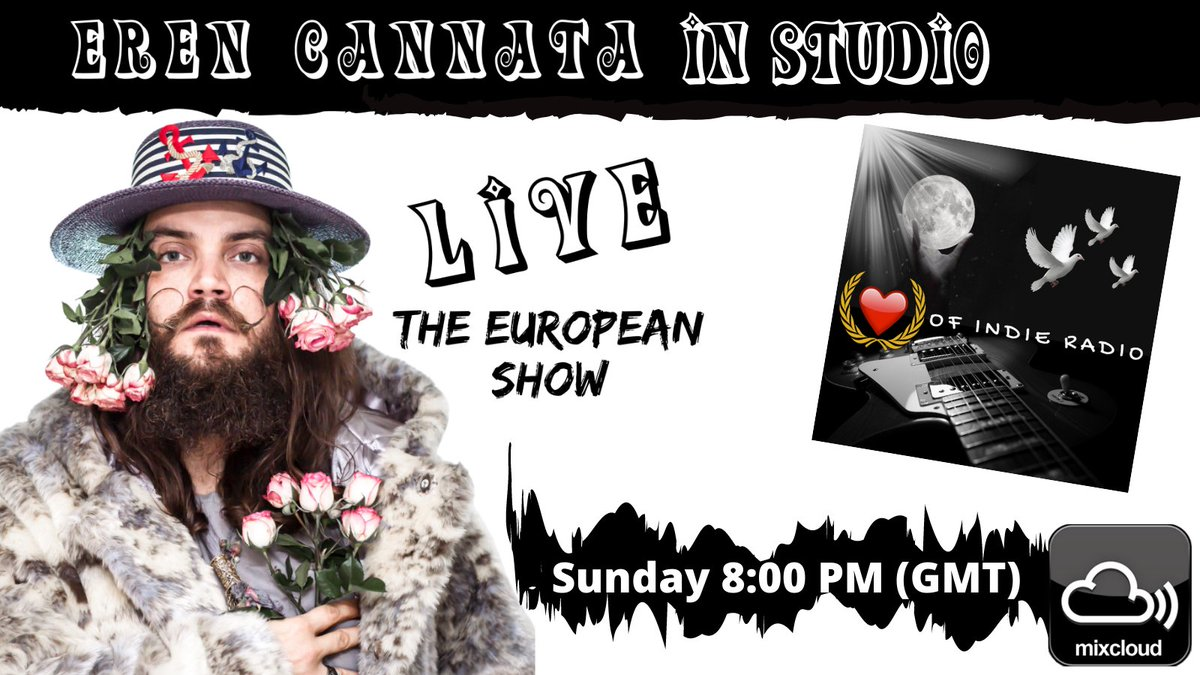 And The Magic Just Keeps Happening-Join Eddie & Emme this week on the European Show. We welcome AWARD-WINNING #songwriter #producer #musician Eren Cannata for a behind the scenes peek at music in the making. What a GREAT SHOW! Join us @mixcloud @Heartofindie @EmmeLentino 8PM GMT https://t.co/6XJioqi4J1