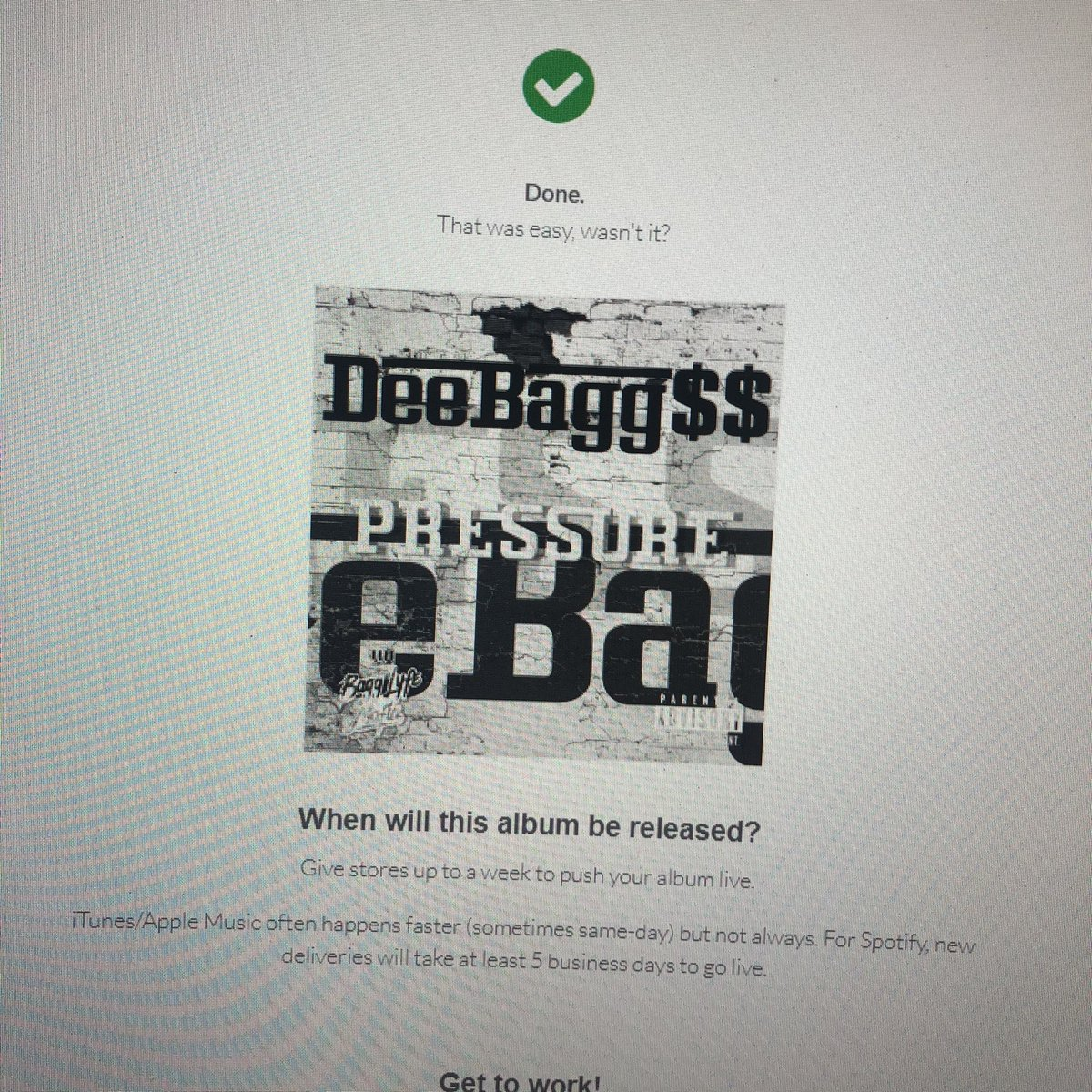 """PRESSURE"" by @itsbaggzhoe dropping soon. It's the waiting game now but it's coming 💰💰😎😎 #mixtape #hiphop #music #rap #rapper #newmusic #dj #artist #trap #beats #unsignedartist #hiphopmusic #follow #spotify #like #studio #rapmusic #hiphopartist #youtube #bhfyp #distrokid https://t.co/AOHNYAbtT7"