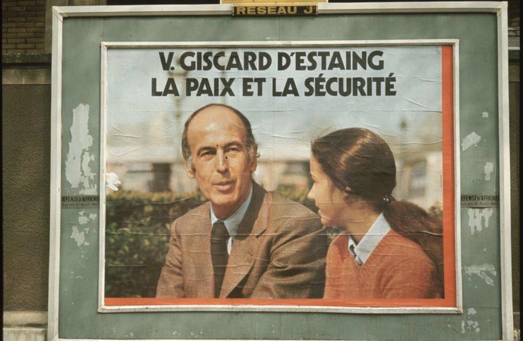 #ValeryGiscarddEstaing