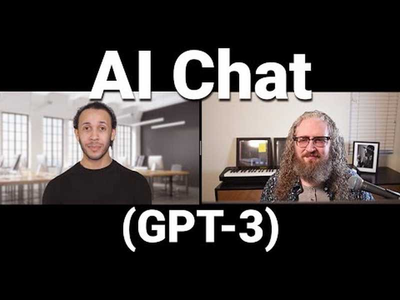 What It's Like To be a Computer: An Interview with GPT-3 [Video]  https://t.co/xSvNZLSyni by @_ericelliott #DeepLearning #AI #MachineLearning Cc @SpirosMargaris @andi_staub @chboursin @pascal_bornet @ShiCooks @gp_pulipaka https://t.co/S9UZDH1kls