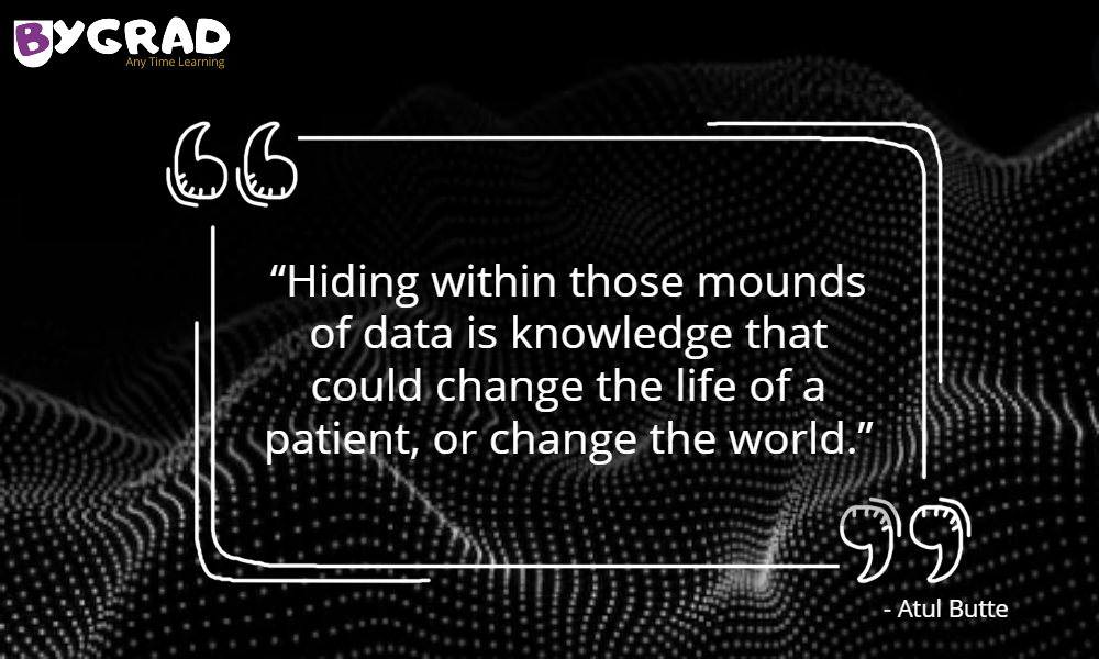 """Hiding within those mounds of data is knowledge that could change the life of a patient, or change the world"" Any Time Learning BYGRAD  #bygrad #AnyTimeLearning #datascience #datasciencecourse #machinelearning #python #BYGRADEducation #didyouknow https://t.co/u1Tcusev9Z"