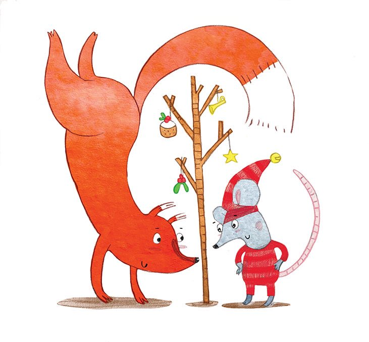 ADVENT // 3 #AdventCalendar #Christmas2020 #illustration #ChildrensBooks #drawing